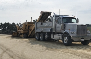 Dump Truck with Trimmer